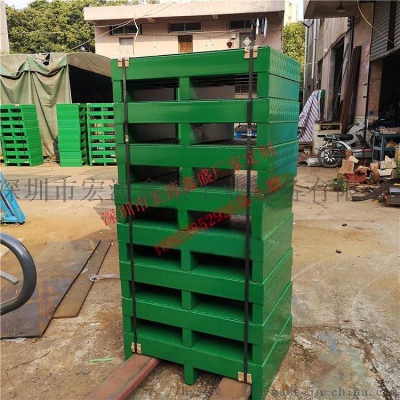 1.2*1米金屬托盤叉車專用卡板貨架倉庫卡板