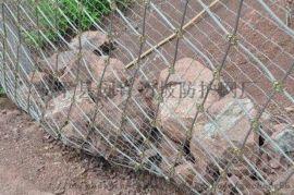 安全绳网@不锈钢边坡防护网@钢丝绳网被动防护网
