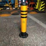 苏州钢制固定反光柱,活动分道柱,镀锌管