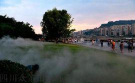 喷雾降温设备 造雾机 万州南滨公园同款水雾