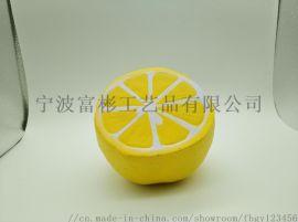 pu仿真檸檬工藝裝飾擺件
