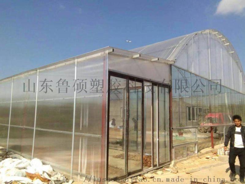 聊城魯西pc陽光板頂棚工程