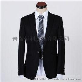 青岛西服定制男女职业西服套装团体供应