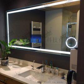 定制數碼TV電視鏡無線鏈接安卓系統電視鏡智慧燈鏡