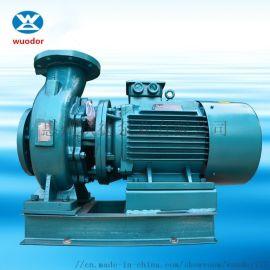供应卧式节能静音管道离心泵 高温热水高压输送泵