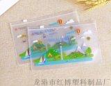 定制pvc文件袋文具套装袋eva卡通拉链塑料袋子