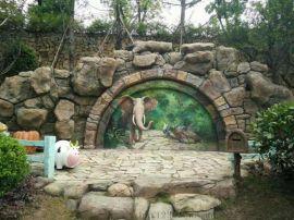 定制玻璃钢雕塑小区景观园林雕塑小品