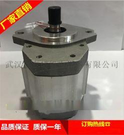 合肥长源液压齿轮泵19.2CC花右(法兰)GHP3A-D-19.2-FG齿轮泵