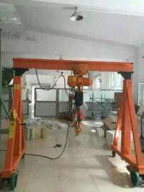 无轨行走龙门吊架制造商/北京简易龙门吊架安装