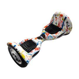 10寸涂鸦平衡车 10寸扭扭车 电动漂移车定制