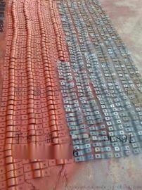 鑫涌扁钢三孔管夹 滑动型管夹 U型镀锌管卡厂家