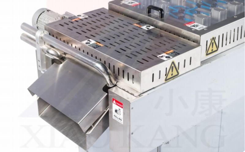 520拉伸真空包装机,蟹肉全自动连续拉伸真空包装机