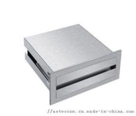 厂家直销不锈钢隐藏式镜后手纸箱