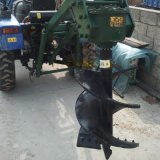种树用的拖拉机挖坑机,苗圃栽树用后置拖拉机挖坑机