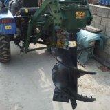 種樹用的拖拉機挖坑機,苗圃栽樹用後置拖拉機挖坑機
