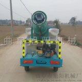 电动三轮洒水车园林绿化雾炮喷雾车工地降尘喷淋车