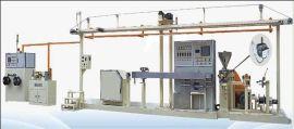 精准稳定高速耐高温东莞铁氟龙线挤出机设备生产线