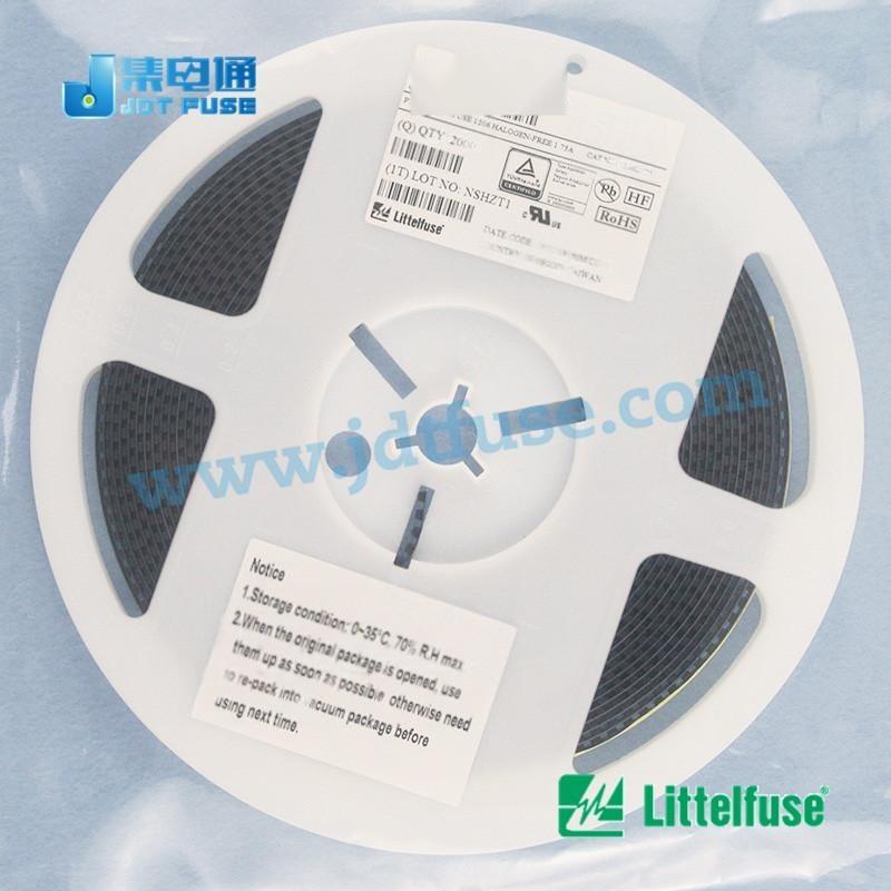 低電阻保險絲0402L050SLKR Littelfuse0402可恢復保險絲0.5A/6V