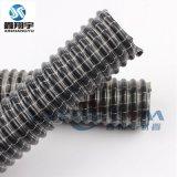 吸塵夾網管,黑皮白線吸塵管,PVC纖維增強耐高壓吸塵通風管