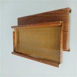 圆孔木纹铝单板厂家直供建筑外墙装饰材冲孔铝单板