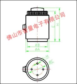 WPL401柱式称重傳感器 大吨位傳感器 大 程傳感器 大量程傳感器