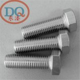 6MM 304不鏽鋼外六角頭全牙螺栓/絲 DIN933/ GB5783 M/m6*10-150