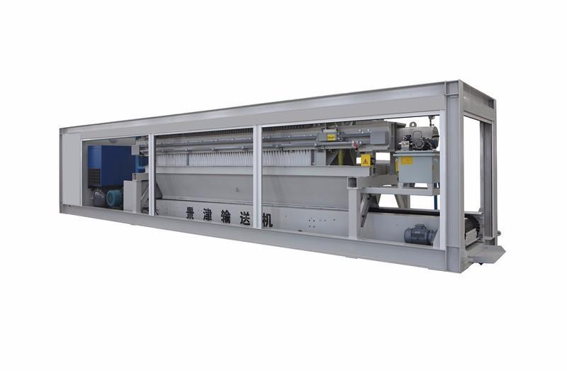 景津1600型程控聚丙烯高压板框隔膜压滤机