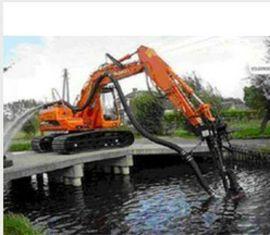 挖机专用清淤泥浆泵耐磨铰刀抽渣泵