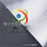 供应PVC透明夹网布、PVC网格布、文件袋布、箱包面料