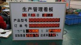 LED制衣厂计件显示报警系统