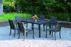 厂家供应户外休闲铝合金桌椅