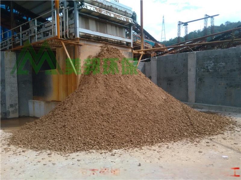 工地污泥干堆设备 施工机泥浆处理 建筑泥浆固化设备