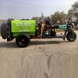 高射程喷雾打药机 柴油农作物打药机 高压手拉打药机
