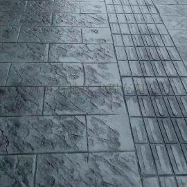 优质压花地坪 艺术压花地坪材料及施工工艺