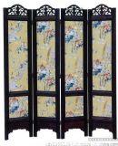 中式玄|實木屏風|隔斷|雕花折屏|仿古屏風