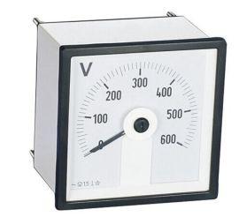 供应240广角度指针式电压测量仪表 电压表600v