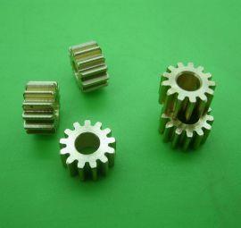 DIY数控自动化机器步进电机齿轮0.8模13齿内孔5有配套齿条