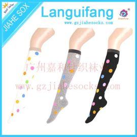 高筒袜及膝袜纯棉日系学生袜显瘦长筒袜 休闲学生袜