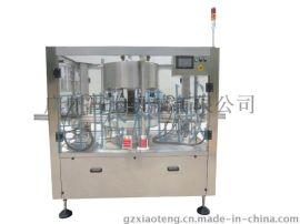 霄腾XT-AX回转三标不干胶贴标机Gyratory Three-label Non-drying Sticker Labeling Machine自动贴标签机