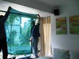 濟南玻璃裝飾膜濟南辦公室貼膜濟南建築玻璃隔熱膜濟南防爆膜