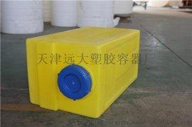 北京絮凝剂溶药箱,100L水处理溶药箱