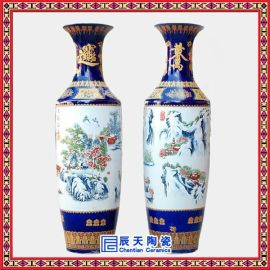 礼品大花瓶 陶瓷大花瓶厂家 定做大花瓶