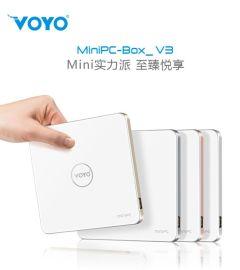 深圳VOYO供应MINI PC V3电脑主机 网络机顶盒 **电视盒子