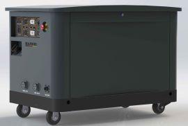 翰丝品牌静音汽油发电机10KW移动电站HS13000