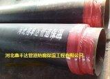 预制直埋保温钢管,聚氨酯发泡保温管道工程