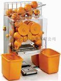 科式大型台式榨汁机 鲜橙果汁机 商用全自动电压汁机