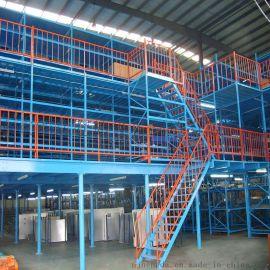 能达中小仓库阁楼平台设计 钢结构仓储阁楼货架