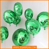 翔宇鹏 玻璃钢道具 电镀氢气球