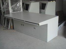 标准22寸液晶显示器操作台深圳 惠州控制台 清远监控台按需定做