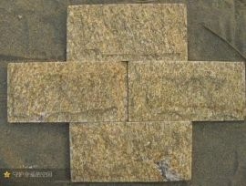 恒瑞石材供应黄色蘑菇石  虎皮黄文化石 型号前